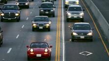 Ten precaución con la neblina al conducir: así fluye el tráfico en Los Ángeles la mañana de este lunes