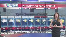 Inicio de semana con lluvias y tormentas en Texas