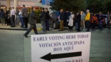 Este viernes es el último día de votación anticipada para las elecciones de medio término en Texas
