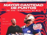 New England Revolution rompió el récord impuesto por el LAFC de Carlos Vela