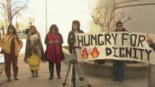Manifestantes exigieron mejores condiciones para presos inmigrantes en la cárcel de Yuba