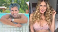 📸 Conoce a la espectacular novia de Raúl Araiza, que es 20 años más joven que él