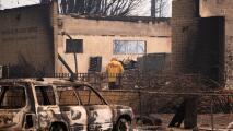 """""""No puedo ir a casa, no queda nada a lo que volver"""": la incertidumbre de los residentes en California luego del incendio Dixie"""