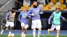 Benzema, 'entre algodones' para Clásico ante el Barcelona