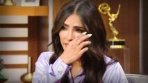 Alejandra Espinoza llora al revelar su angustia por preocupar a sus papás con su enfermedad