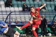 Bélgica se repone de gol tempranero y golea a Estonia