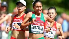 La mexicana Lupita González se convierte en subcampeona mundial en 20k con marcha