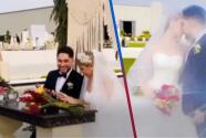 """Con una boda de ensueño, """"El Bebeto"""" se casó con la conductora de TV, Marlen Selene"""