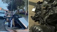 Conoce las nuevas acciones que implementan en Queens para combatir el problema de basuras en las calles