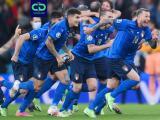 ¡El color en Wembley! Italia vs. España con los aficionados