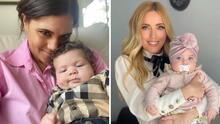 Los bebés de estas famosas derrochan ternura: son la adoración de sus mamás