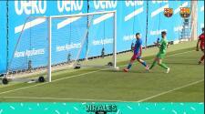Buen augurio: El 'Kun' Agüero logra su primer gol en el Barcelona