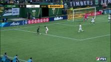 George Fochive coloca el 'toque final' para darle la ventaja a Portland sobre el LAFC