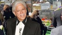 Familiares y amigos de Johnny Pacheco le dan el último adiós en el cementerio de Woodlawn