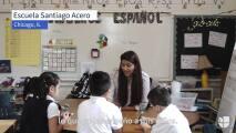 """""""Estamos rompiendo esquemas de las escuelas tradicionales"""": Así enseña esta maestra mexicana en Chicago"""