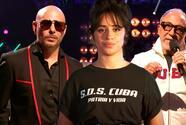 Camila Cabello, Emilio Estefan y Pitbull lanzan un #SOSCuba en Premios Juventud