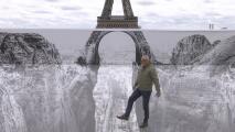 ¿Se abrió un abismo bajo la Torre Eiffel? Un artista tiene la respuesta de la impresionante imagen