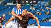 El Huesca resurgió en Anoeta