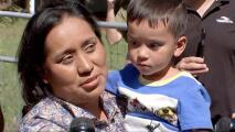 """""""Contenta de tener a mi hijo en mis brazos"""": mamá de Christopher cuenta cómo está el pequeño tras el rescate"""