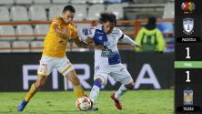 Tuzos y Tigres dividen puntos en Pachuca para mantener racha sin derrotas