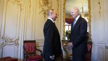 """""""Mucho ruido y pocas nueces"""": Así estuvo la reunión entre Joe Biden y Vladimir Putin"""
