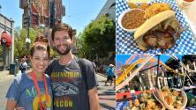 Este hombre pagó sus deudas y hasta se compró una casa comiendo en Six Flags