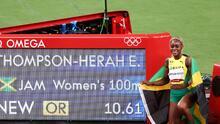 Elaine Thompson Herah gana el oro en 100 metros e impone récord olímpico