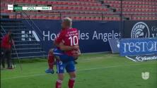 ¡GOOOL! Nicolás Ibáñez anota para Atlético San Luis.