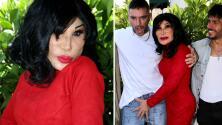 ¿Se le fue la mano? Lyn May, atrevida y seductora con Julián Gil en la presentación de 'Cerdo'