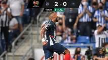 Con doblete de Vergara, Monterrey vence a unos Pumas sin garras