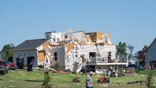Siete tornados azotaron Nueva Jersey y Pensilvania durante la tormenta, según el Servicio Meteorológico Nacional