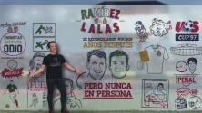 El clásico y su rivalidad: cuando Ramírez agredió a Lalas dándole en una zona sensible…