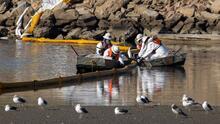 ¿Cómo podría afectar al medio ambiente el derrame petrolero frente a las costas de California?