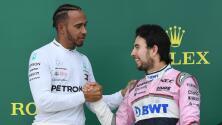 """Lewis Hamilton: """"Checo nos la pondrá mucho más difícil"""""""