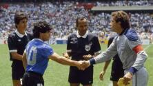 El árbitro de 'La mano de Dios' rinde homenaje a Maradona