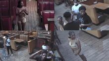 Agreden a empleada de restaurante de Houston que grababa a jóvenes que no pagaron la cuenta