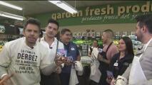 ¿Quién lo hizo más rápido? Eugenio Derbez y sus hijos mostraron si son buenos para 'chambear' en un supermercado