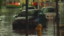 Brickell fue uno de los lugares más afectados por las fuertes lluvias al sur de Florida