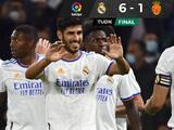 Real Madrid golea al Mallorca gracias a triplete de Asensio y  doblete de Karim Benzema