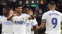 Real Madrid golea al Mallorca gracias a Asensio y Benzema