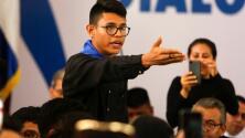 """Estudiantes aseguran que gobierno de Nicaragua está """"destruido"""" y exigen la renuncia del presidente"""