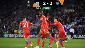 ¡Osimhen es el héroe! El Napoli empata en agonía ante Leicester
