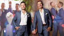 En fotos: la romántica e íntima boda de Luis Sandoval y Renato Pérez en una playa de México