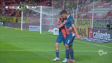 Cavallini metió el primero para Puebla tras gran jugada colectiva