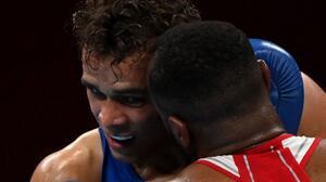 A lo Mike Tyson: Boxeador marroquí mordió oreja a rival en los Olímpicos