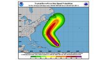SNM emite alerta por fuerte oleaje en playas del norte a causa del huracán Larry