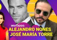 Los 'hermanos' Alejandro Nones y José María Torre se reúnen en El Break de las 7 con Karina Banda