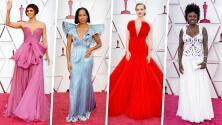 Solo estos dos vestidos de la alfombra roja de los Oscar 2021 agradaron a Jomari Goyso y David Salomón