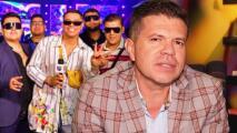 """""""Nadie es eterno"""": el mensaje que Jorge Medina manda a sus colegas gruperos, en especial a Eduin Caz"""