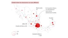 Pandora Papers: Dónde viven los mexicanos que utilizan empresas offshore